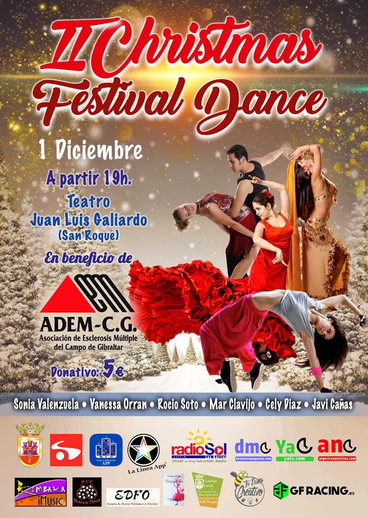 CARTEL II CHRISTMAS DANCE FESTIVAL 01-12-2018 PRENSA2