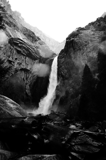 Cascade / Lower Yosemite Falls - Yosemite National Park, Californie