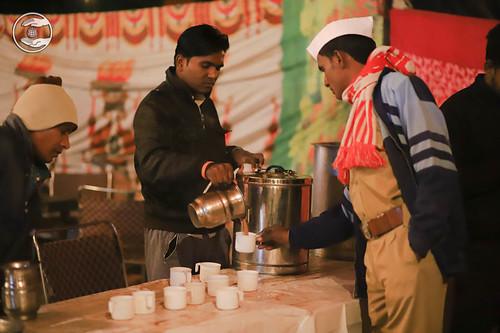 Tea break at Midnight