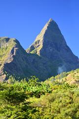 Le Piton des Calumets à Mafate, Reunion Island