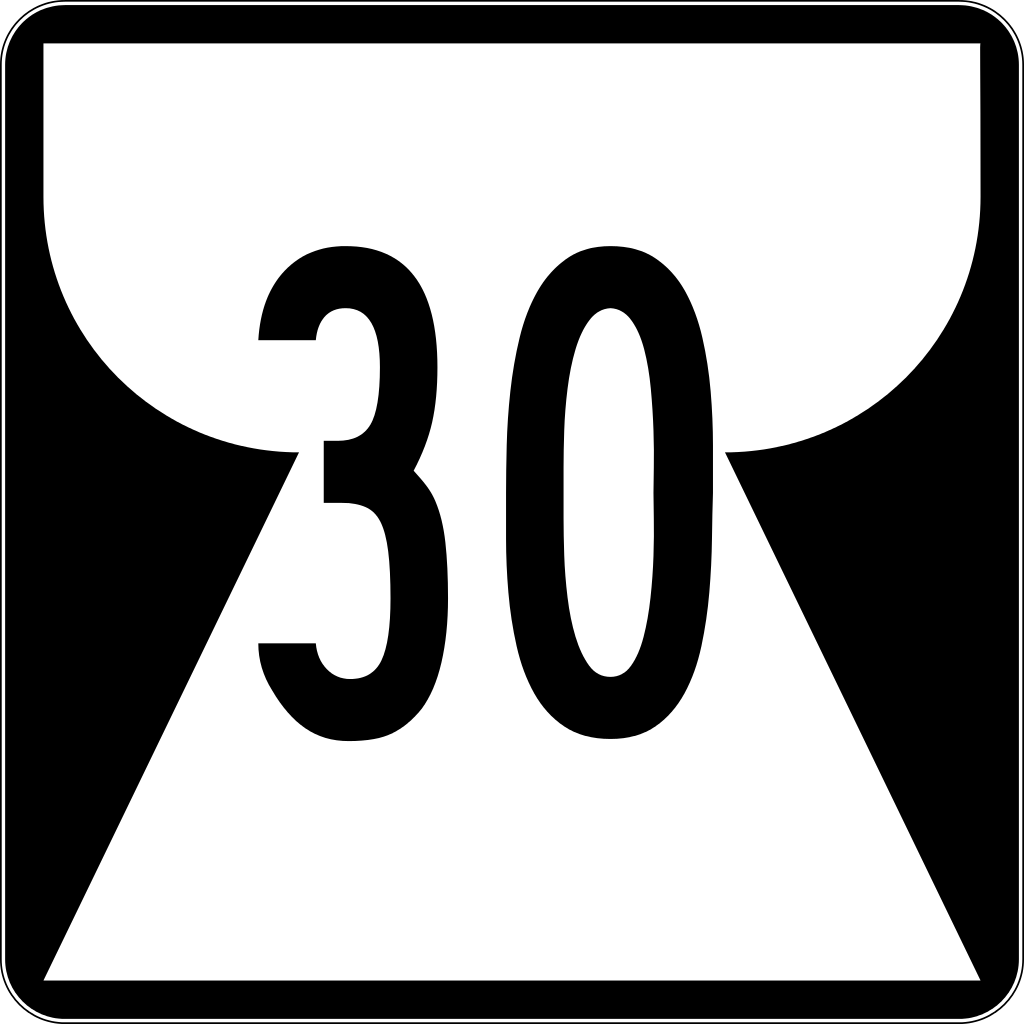 Northern Mariana Islands route marker for Highway 30.