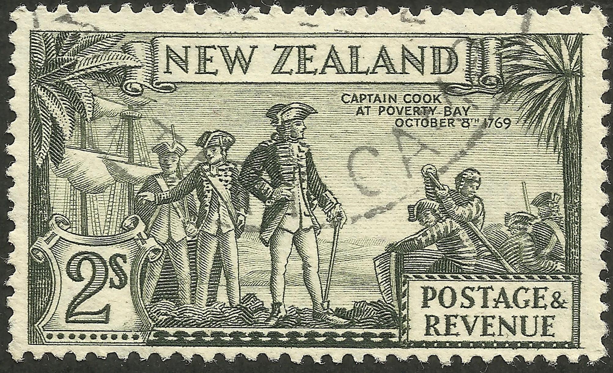 New Zealand - Scott #215 (1936)