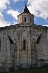 Abside, église romane Saint Martin (XIIe), Arces, Saintonge, Charente-Maritime, Nouvelle-Aquitaine. - Photo of Grézac