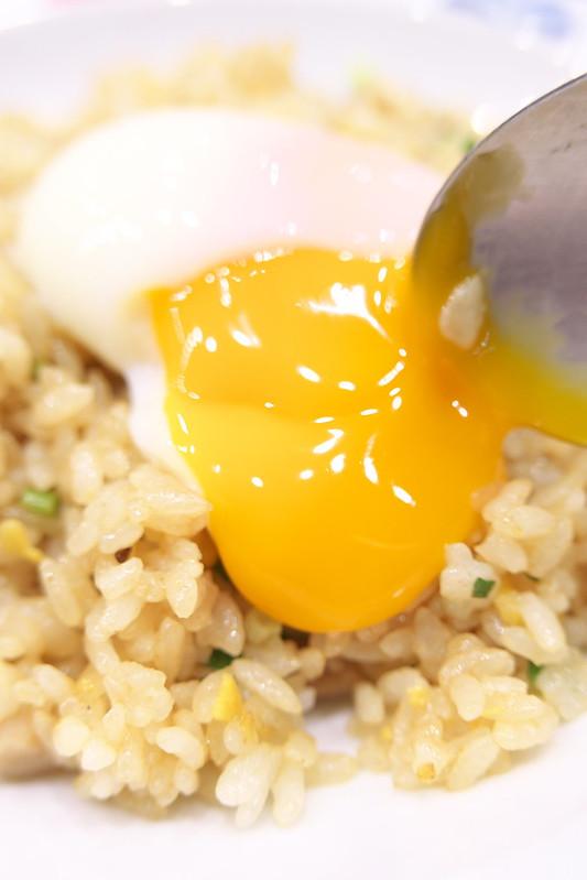 リンガーハットの温度卵チャーハン