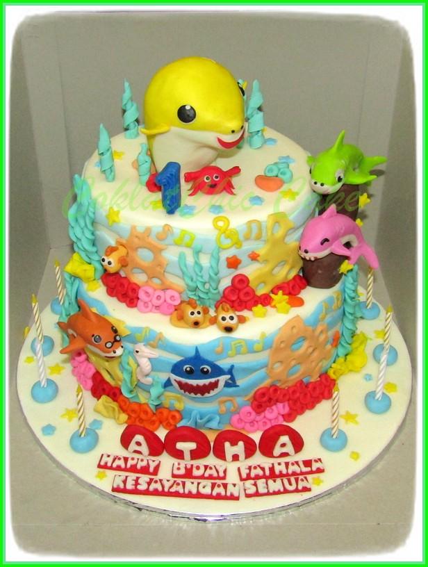 Cake Baby Shark ATHA 22 /20 cm