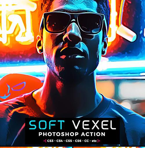 GraphicRiver – Oil Vexel Photoshop action
