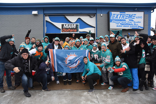Dolfans NYC @ Green Bay