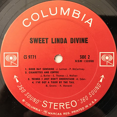 SWEET LINDA DIVINE:SWEET LINDA DIVINE(LABEL SIDE-B)