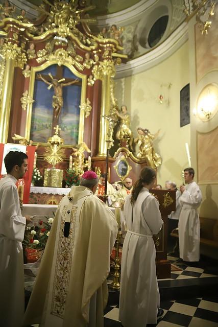 Msza św. w ramach wizytacji w Alwerni | Abp Marek Jędraszewski, 24.11.2018