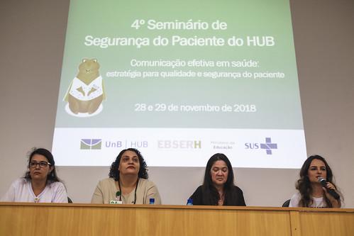 4º Seminário de Segurança do Paciente do HUB.