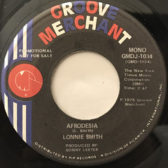 LONNIE SMITH:AFRODESIA(LABEL SIDE-B)