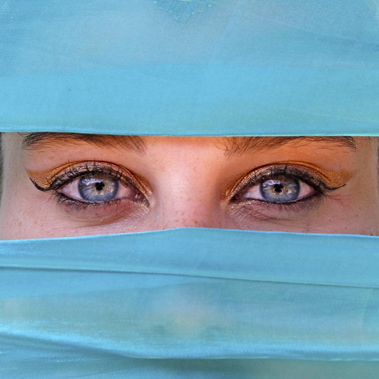 Vencedor do desafio mensal: Olhos