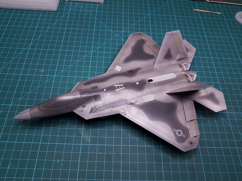 Academy 1/72 F-22A Air Dominance Fighter - Sida 6 46447754152_e3d0fba23f_c