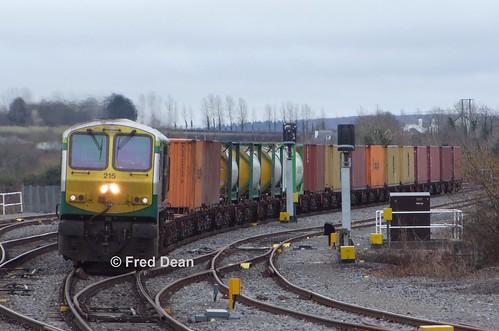 Irish Rail 215 in Portarlington.