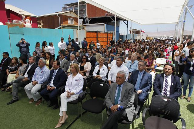 Intendente Quezada encabezó la inauguración del CESFAM de Santa Rosa en Alto Hospicio. 27-12-2018