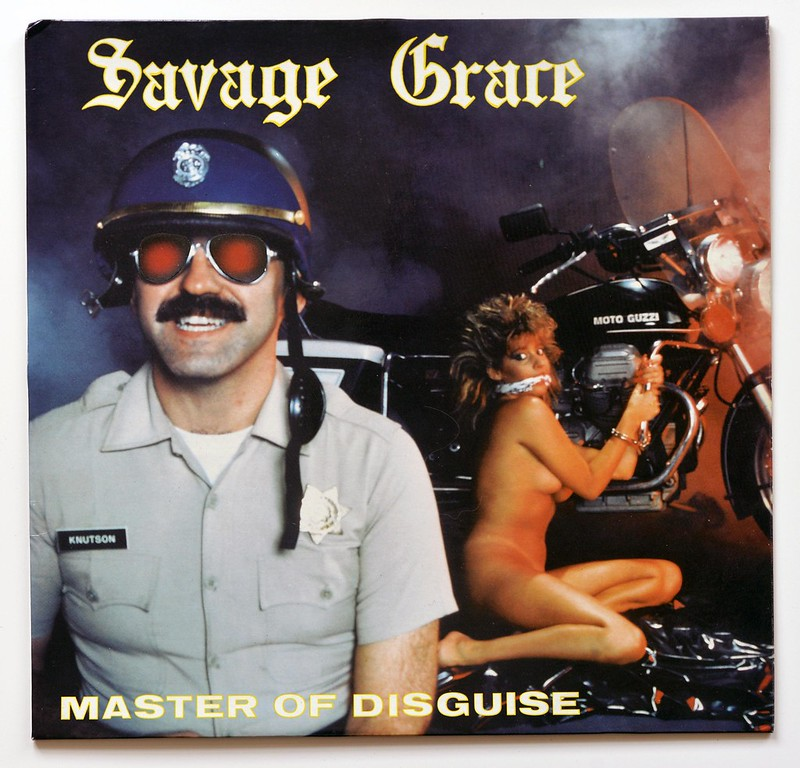 A0564 SAVAGE GRACE Master of Disguise