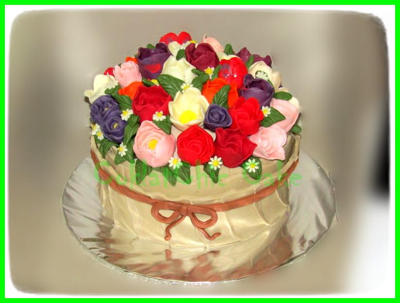 Cake Bunga 15 cm