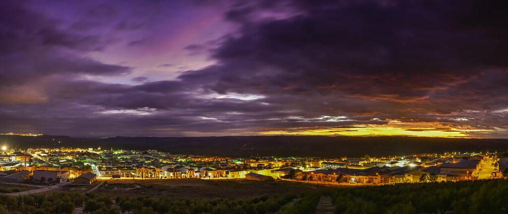 puesta de sol lopera