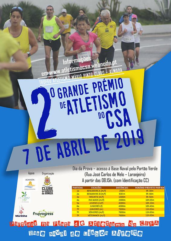 Cartaz 2º GP Atletismo CSA