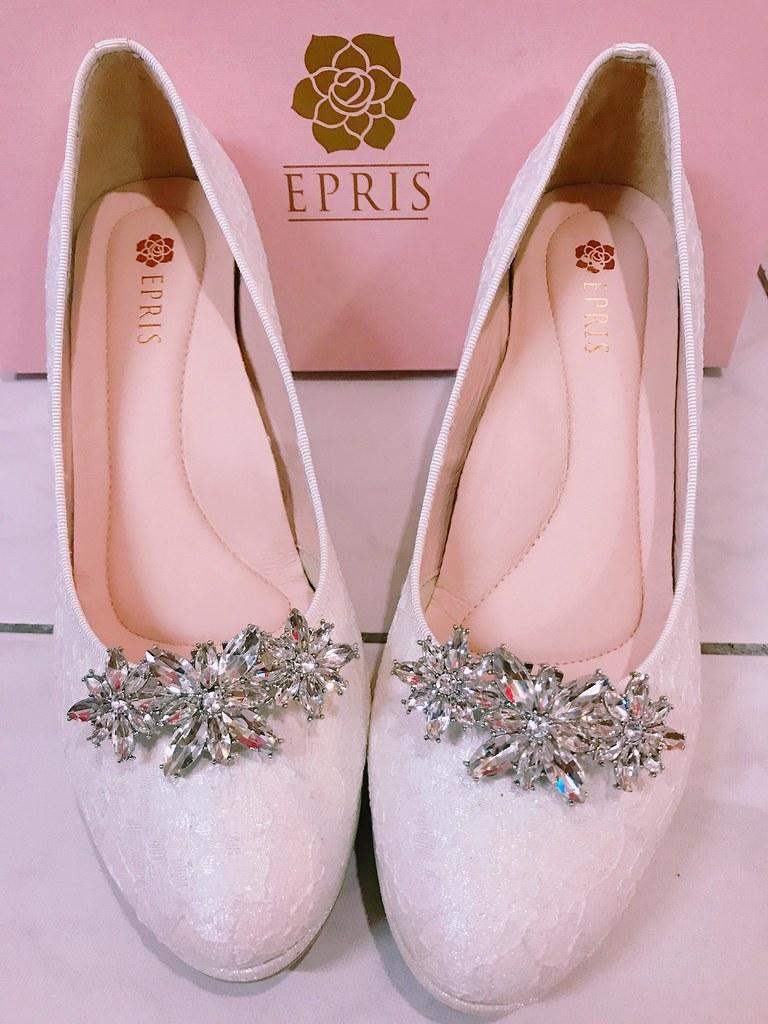 白色婚鞋白推薦