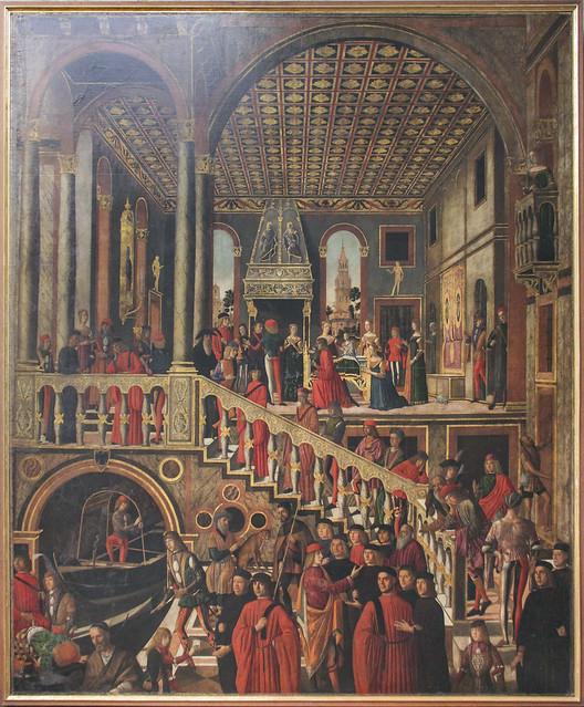 Miracolosa guarigione della figlia di Bevegnudo de San Polo, Giovanni Mansueti, 1485-1526(27)