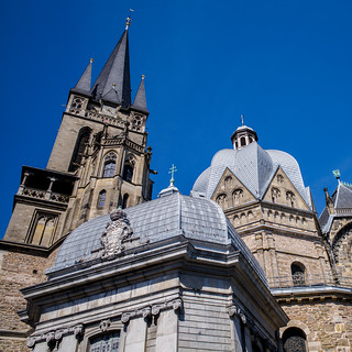 History In Square - Aachen Cathedral