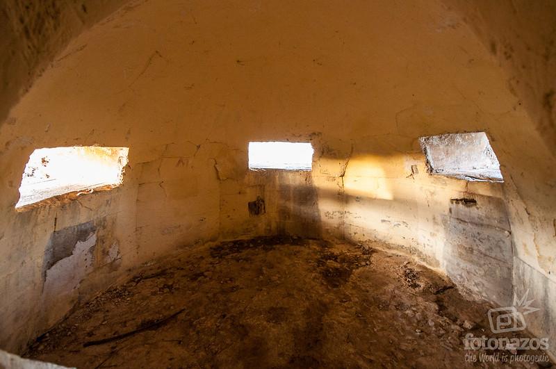 Búnker Blockhaus 13 en Colmenar del Arroyo