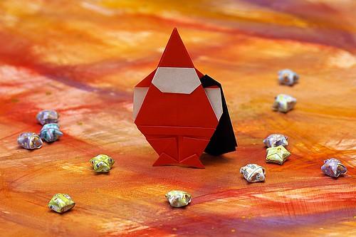 Origami Santa (Designer ??)