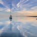 Lone yacht, Mersea Island by northernladgonesouth