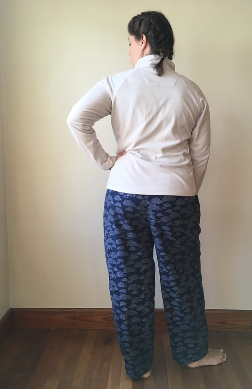 Quick and Easy Pajama Pants:  McCall's 3019