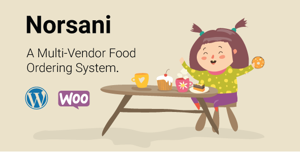 Norsani v2.0 - Multi-vendor food ordering system