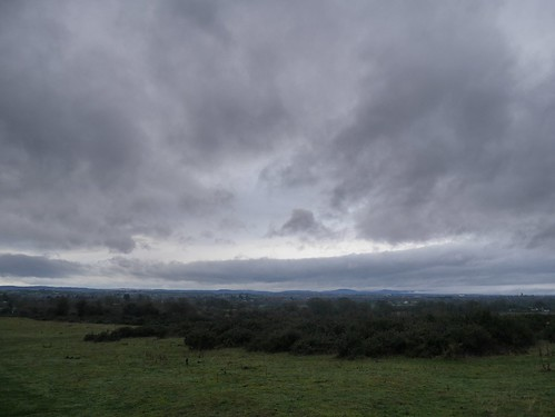 Views over the Malverns from Kempsey Common