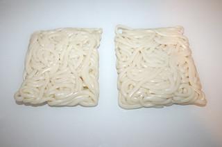 04 - Zutat Udon-Nudeln / Ingredient udon noodles