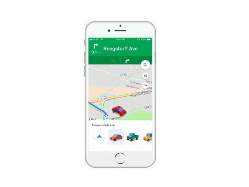 Google Maps Now Lets You Swap The Navigation Arrow For 3D Cars