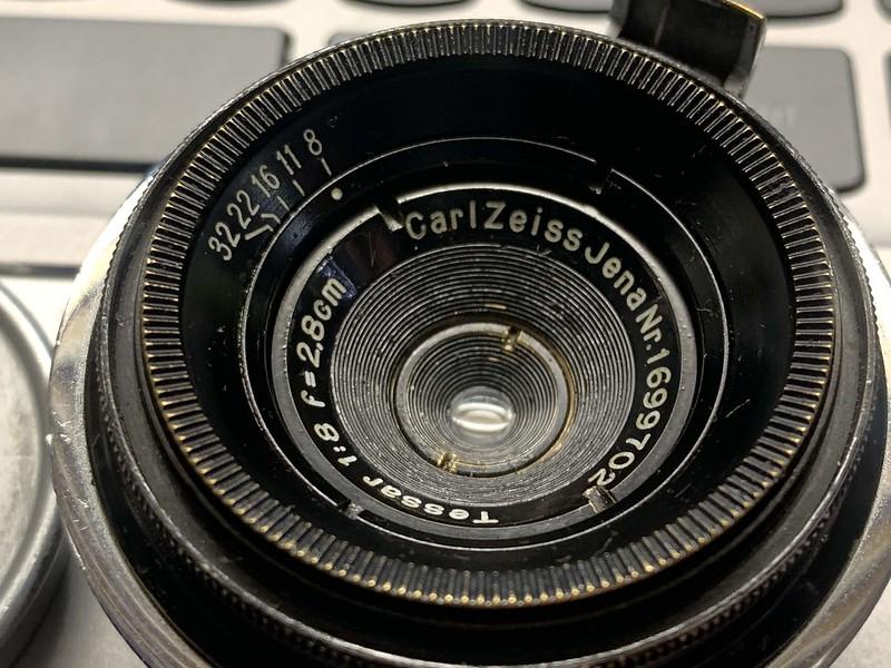 Carl Zeiss Tessar 2.8cm F8
