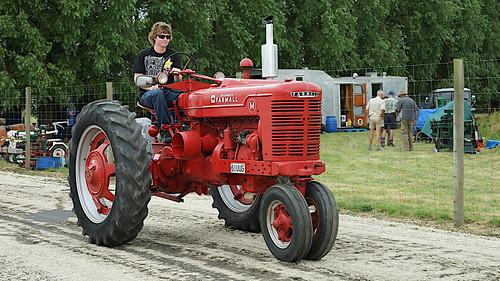 1950 International Farmall M Tractor.