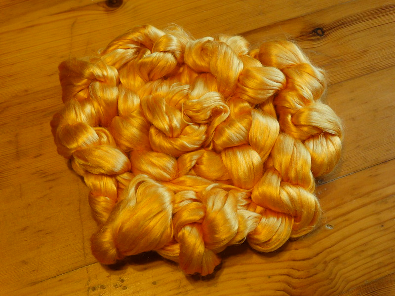 Mulberry Silk (Colourway - Sunset)