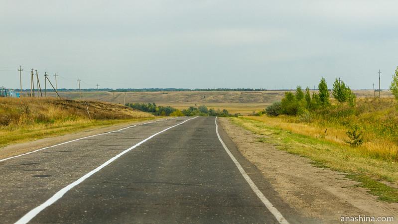 Дорога в Саратовской области