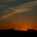 Sundown at Asda by ossie.g