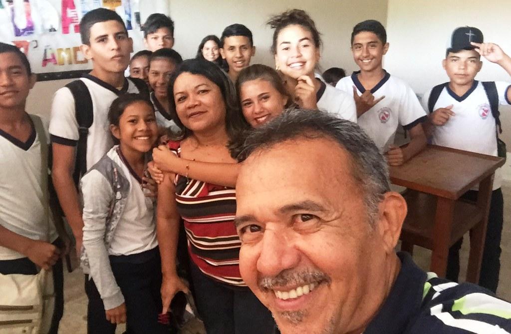 Editor do blog vai à escola Barão do Tapajós conversar sobre fake news, Jeso Carneiro no Barão do Tapajós: fake news