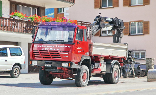 Steyr 19 S 36 in Klosters 10.9.2018 3466