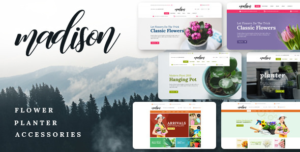 Madison v1.0 – Multipurpose OpenCart Theme (Included Color Swatches)