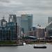 Canary Wharf from Royal Victoria Bridge