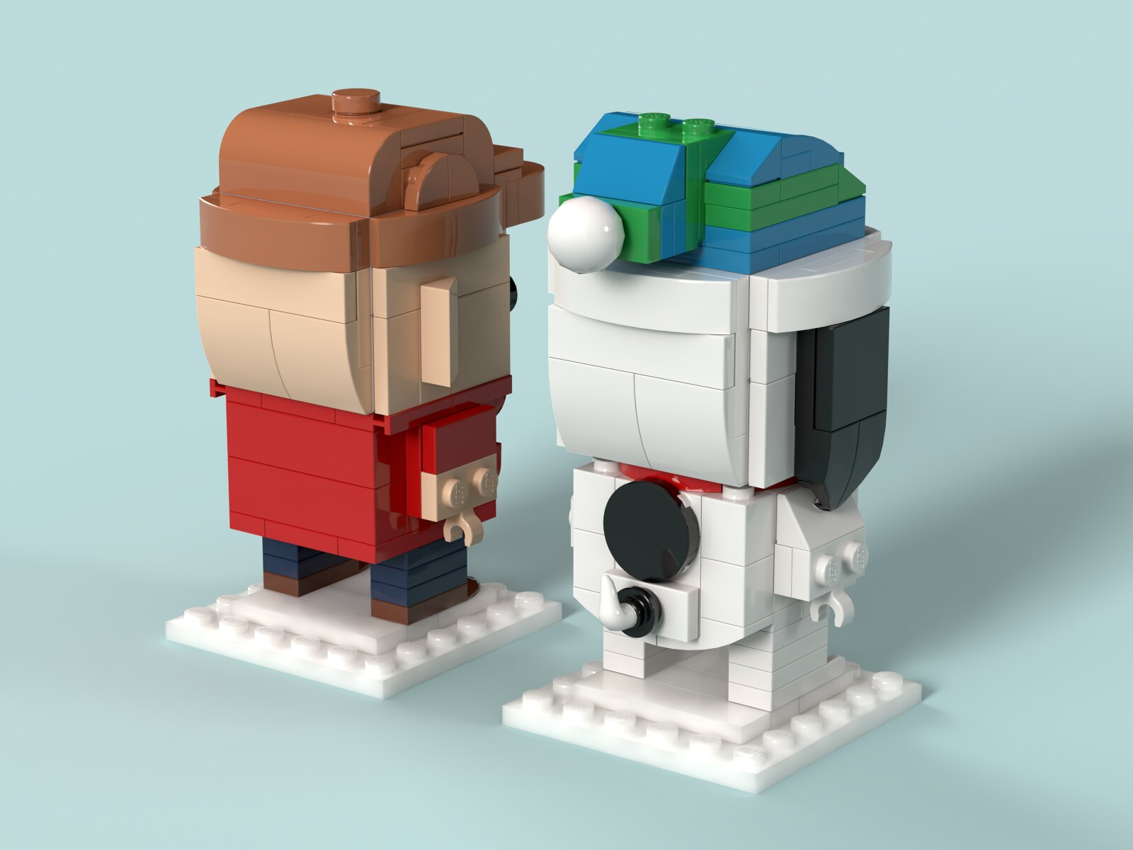 LEGO BrickHeadz Charlie Brown Christmas