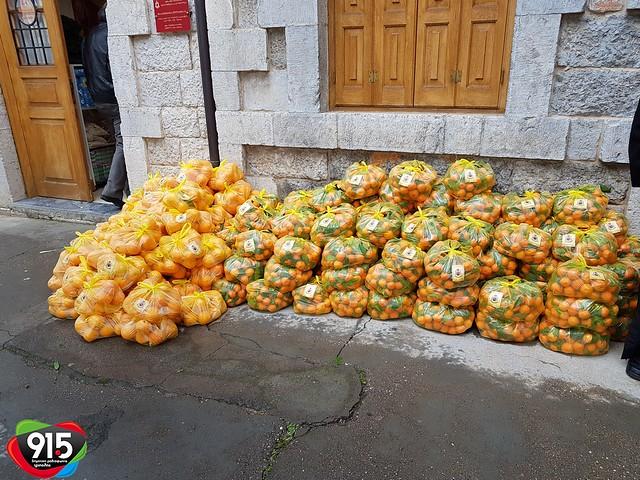 Η Μητρόπολη Μαντινείας και Κυνουρίας μοίρασε τρόφιμα σε απορους