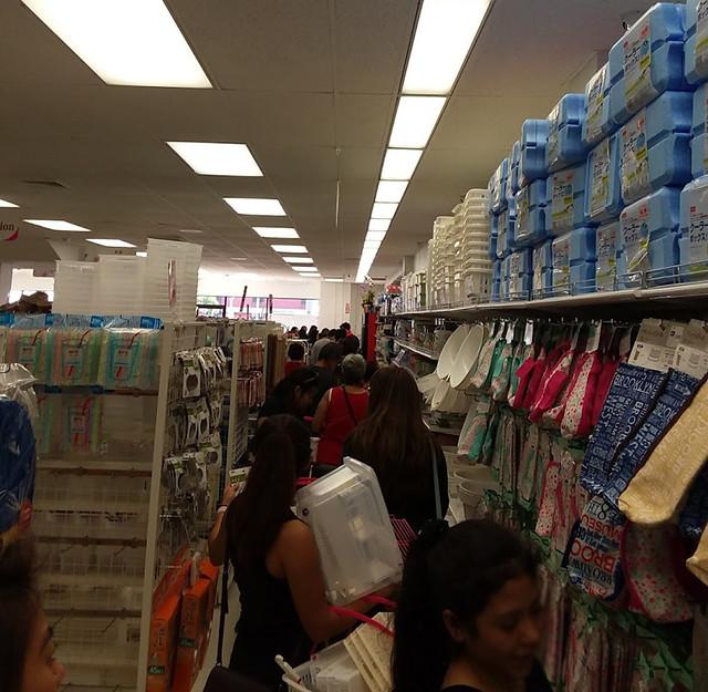 line to cashier