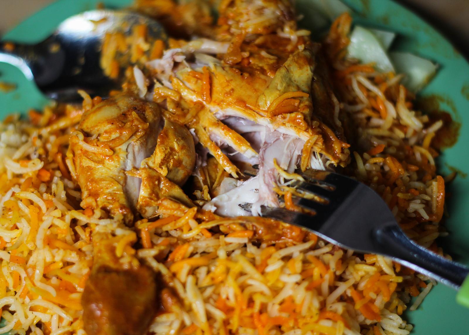 Haris Sharif鸡肉撕裂