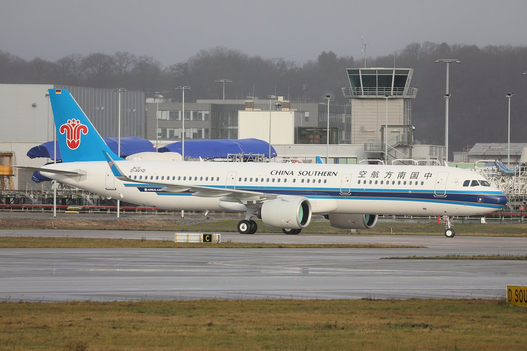 A321 Neo China Southern Airlines D-AVYD B-303X