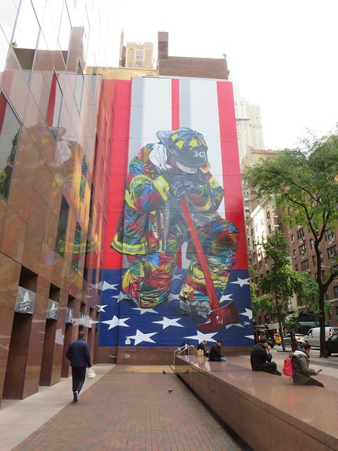 Firefighter Mural, Canon POWERSHOT SX540 HS