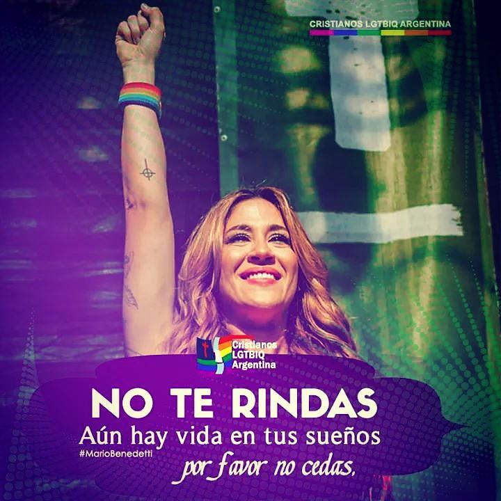 #BuenMiércoles No te rindas! Aún hay vida en tus sueños.Por favor :pray:, No cedas! :muscle: #CristianosLGTBIQArgentina️:rainbow:✝️